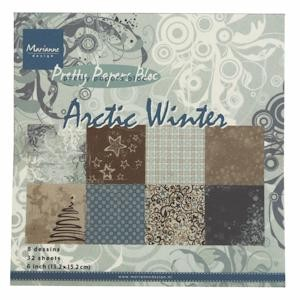 Marianne Design - Pretty Papers Bloc - Arctic Winter