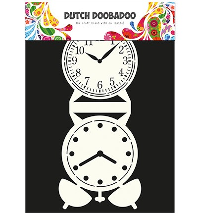 DDBD Dutch Card Art Clock