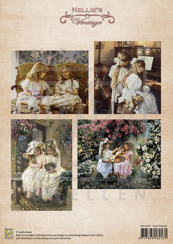 Nellie Snellen - Vintage - Best Friends