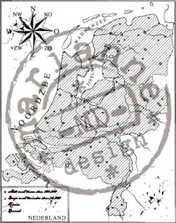 Marianne Design - Clearstamp - Map of Holland