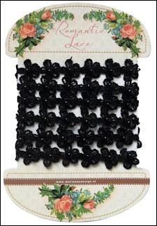 Marianne Design - Romantic Lace - Black
