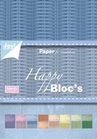 Joy! Papierblok - Happy