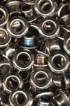 Eyelets metallic nickel