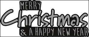 Marianne Design - Craftables - Merry Christmas