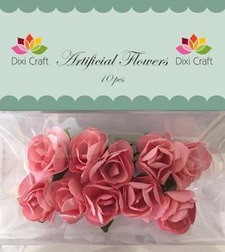 Dixi artificial Flowers rozen rose