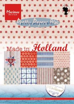 Marianne Design - pretty papers bloc Made in Holland