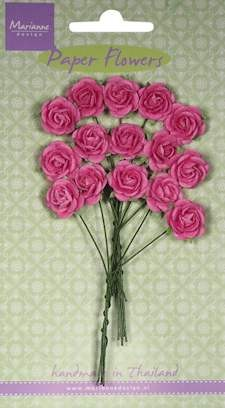 Marianne Design - Roses - bright pink