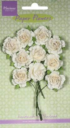 Marianne Design - Carnations - white