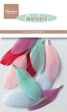 Marianne Design - Feathers colours