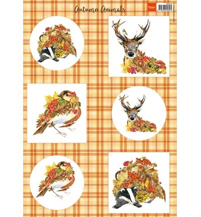 Marianne Design - Autumn Animals - Deer