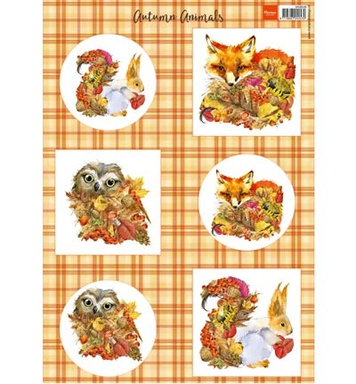 Marianne Design - Autumn Animals - Fox