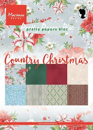 Marianne Design - Papers bloc - Country Christmas