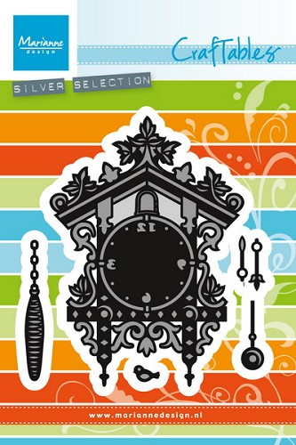 Marianne Design - Craftables - Cuckoo clock
