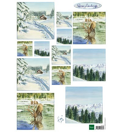 Marianne Design - Knipvel - Tiny`s winter landscapes