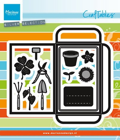 Marianne Design - Craftables - Seed pocket & Garden tools