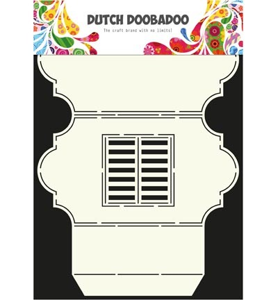 DDBD Dutch Cart Art Stencil - window 3
