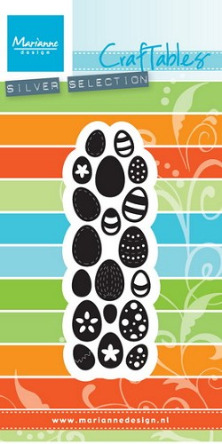 Marianne Design - Craftables - Punch die - Eggs