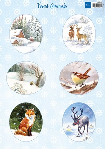 Marianne Design - Knipvel - Forest animals fox