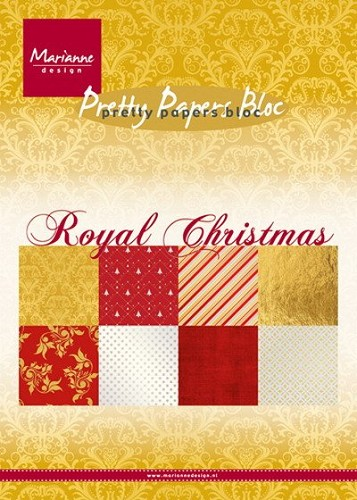 Marianne Design - Pretty Papers Bloc - Royal Christmas