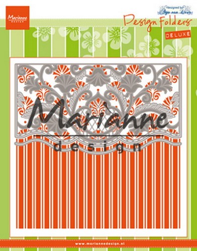 Marianne Design - Design folder - De luxe Anja`s ornamental border