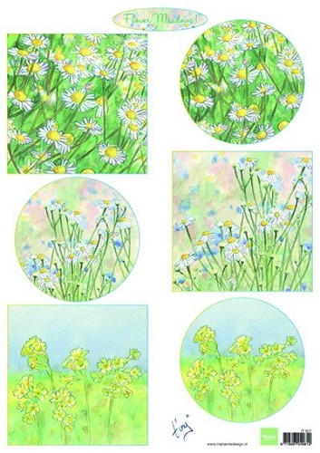 Marianne Design - Knipvel - Tiny`s Flower Meadow 1