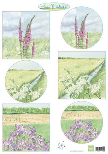 Marianne Design - Knipvel - Tiny`s Flower Meadow 2