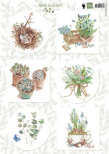 Marianne Design - Knipvel - Herbs & Leaves 1