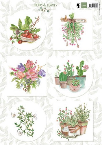 Marianne Design - Knipvel - Herbs & Leaves 2