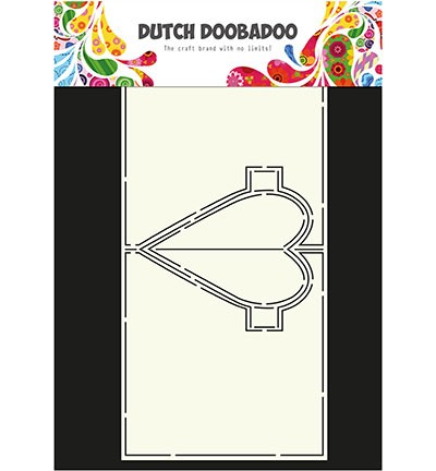DDBD - Dutch Card art - Heart pop up A4
