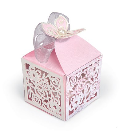 Sizzix - Thinlits Die Set - Butterfly - Favour Box