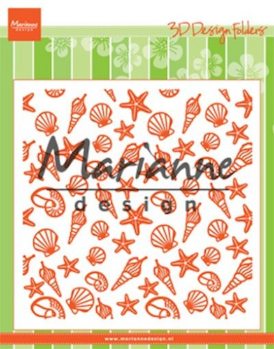 Marianne Design - Design folder - Sea shells