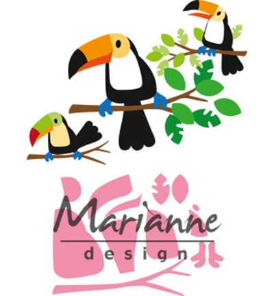 Marianne Design - Collectables - Eline`s toucan