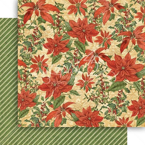 Graphic 45 - Pretty Poinsettia