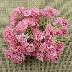 Mulberry paper - Gypsophila - 2 tone Baby pink