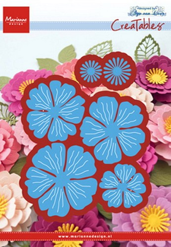 Marianne Design - Creatables  - Anja`s beautiful flower set