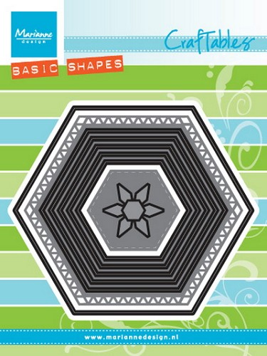 Marianne Design - Craftables - Basic set - Hexagon