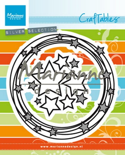 Marianne Design - Craftables - Circle & Stars