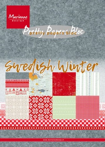 Marianne Design - Pretty papersbloc - Swedish winter