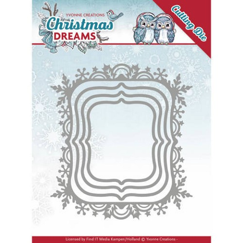 Yvonne Creations - Dies - Christmas Dreams - Christmas borders