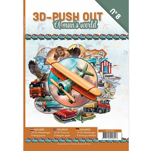 3D Stansboek - A man´s world - 8