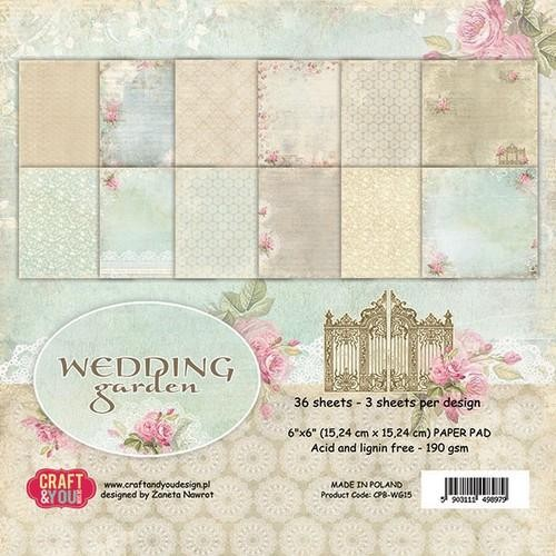 Craft and You - Paperpad - Wedding garden