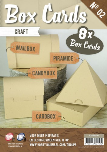 Boek Box cards 2 - Craft