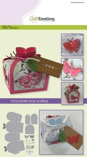 Craft Emotions - Snijmal - Chocolatebox - Butterfly