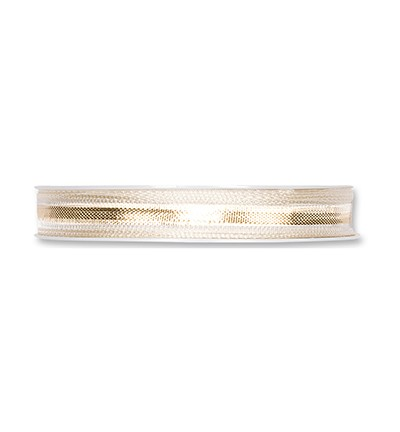 Ribbon - Gold/Cream