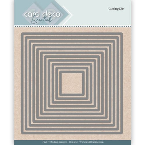 Card deco - Essentials - Cutting Dies - Square