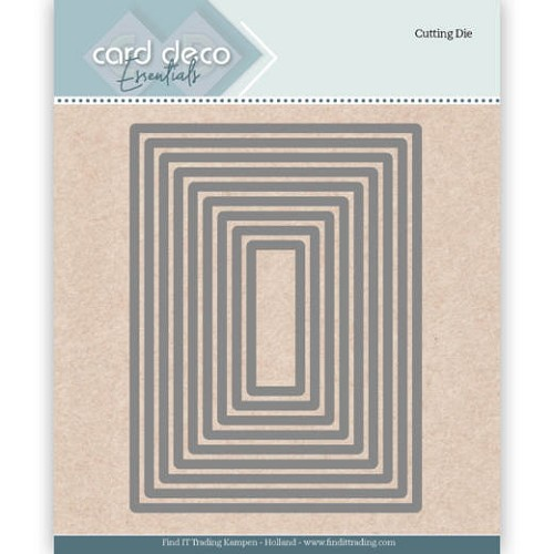 Card deco - Essentials - Cutting Dies - Rectangle