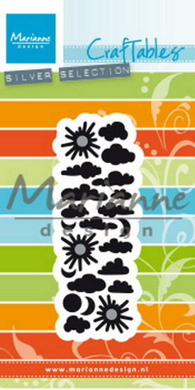 Marianne Design - Craftable - Punch die clouds