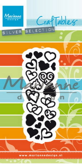 Marianne Design - Craftable - Punch die - Sweet hearts