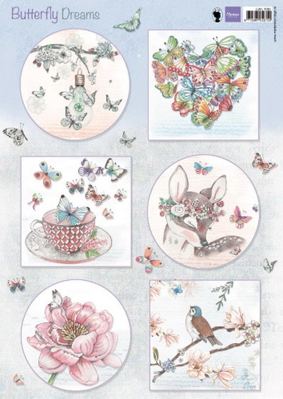 Marianne Design - Knipvel - Butterfly Dreams