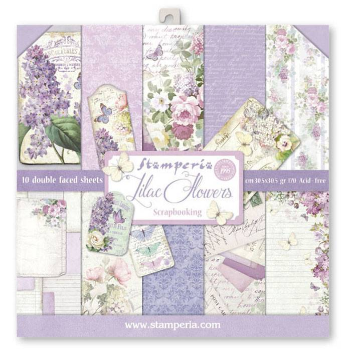 Stamperia - Paper Pack - Lilac Flowers
